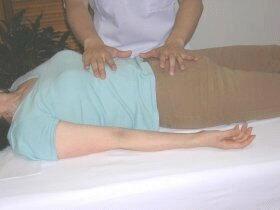 横隔膜、内臓などの調整